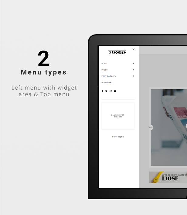 Templates for bloggers