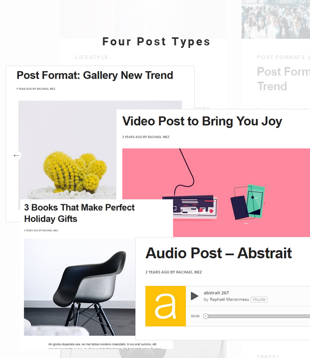 Blogito template post types