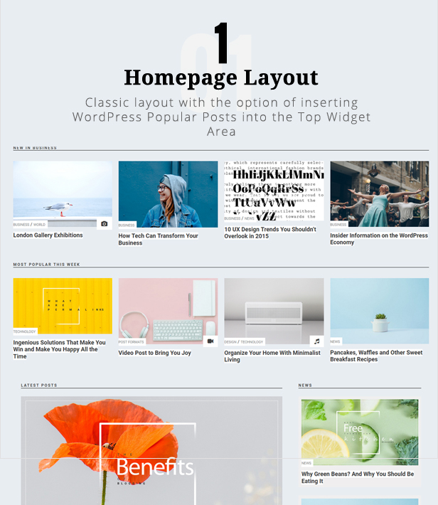 Make a blog - Penciletto theme